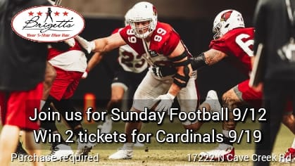 Cardinals Sept 19th raffle